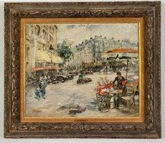 Flower Seller, Paris