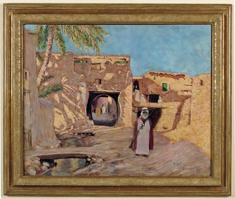 Biskra Algeria - Painting by Arthur George Collins