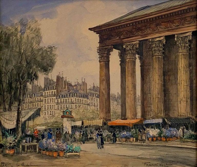 Place de la Madeleine - Art by Frank Will