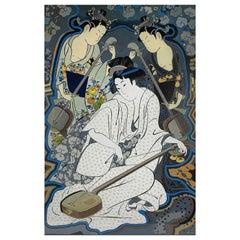 Three Geisha Playing Instruments
