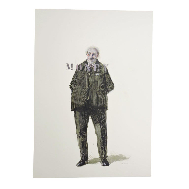 Robert Indermaur Figurative Art - Money
