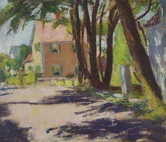 Provincetown Street with Figure