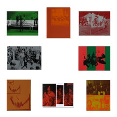 Untitled (Suite of 8 Silkscreens), Contemporary Art, Collage, Photography