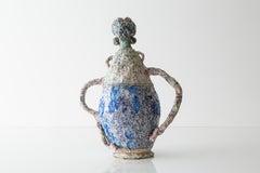 Poodle Amphora #2