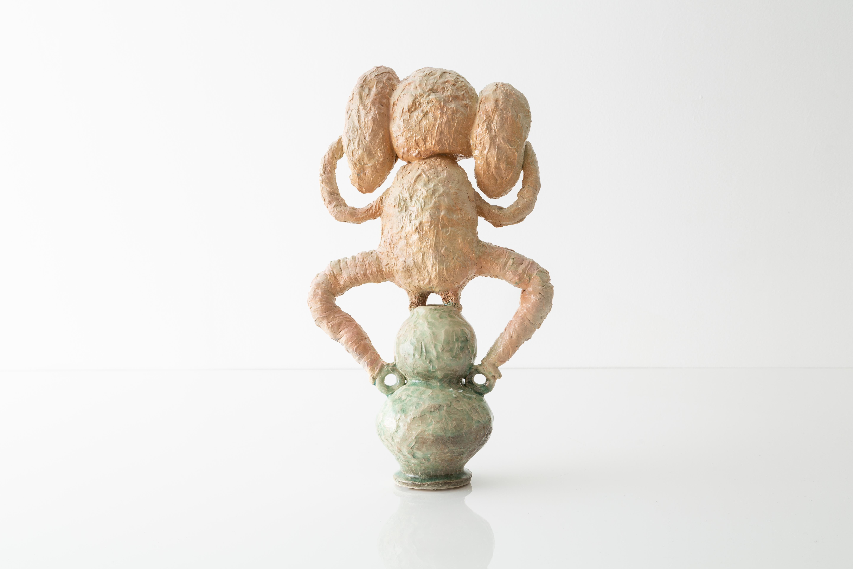 Poodle Amphora #1