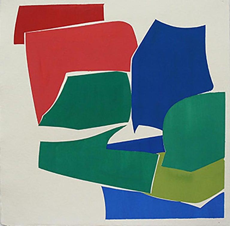"Joanne Freeman ""Summer Multi 2"" -- Abstract Painting on Handmade Paper - Art by Joanne Freeman"