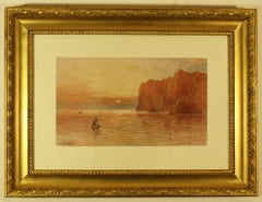 The Vro and Gull Rock, Mullion'by Thomas Hart F.S.A