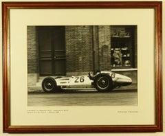 Manfred Von Brauchitsch Grand Prix Rheims 1938