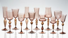 Rosewater Goblets