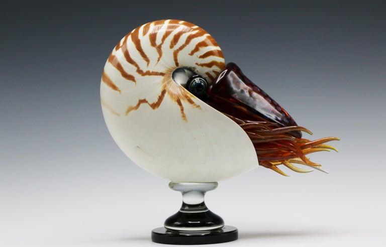 Joe Peters Figurative Sculpture - Nautilus