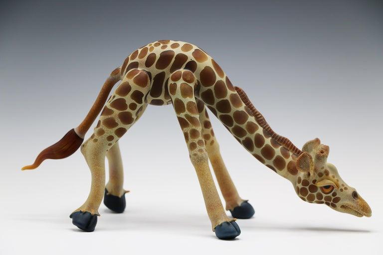 Matt Robertson Figurative Sculpture - Untitled (Drinking)
