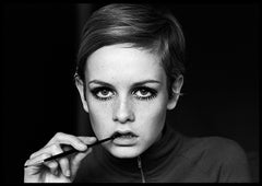 Twiggy, Eyeliner - 20th Century Photography, Model, Fashion, Sixties, London