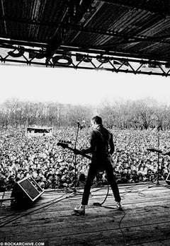 The Clash photographed by Syd Shelton