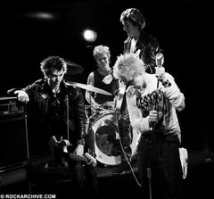 The Sex Pistols photographed by Virginia Turbett