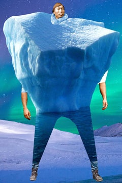 Plate No. 140 (Abstract, Collage, Iceberg, Eskimo)
