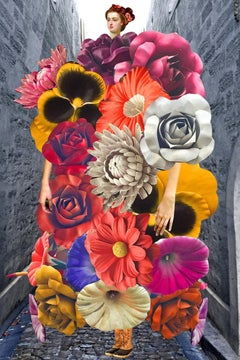 Plate No. 281 (Abstract, Collage, Flowers)