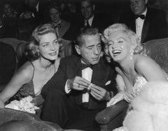 Star Trio - Photography, Humphrey Bogart, Marilyn Monroe, Lauren Bacall
