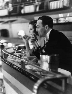 Dining Out - 20th Century Photography, Glamour, Champagne, Black Tie, Tuxedo