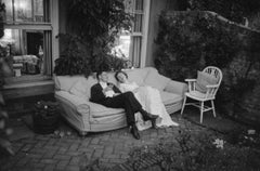 Couple at Party - 20th Century Photography, Romance, Black and White