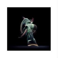 Abstract Dancers, Green 3, 2019 (Photographic Print, Ballet, Dance, Green)