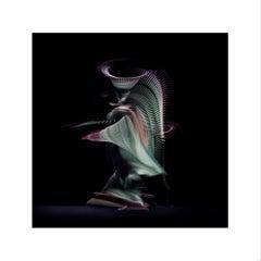 Abstract Dancers, Green 4, 2019 (Photographic Print, Ballet, Dance, Green)