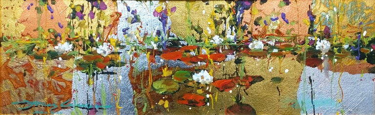 James Coleman Landscape Painting - GOLDEN REFLECTION