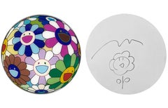 FLOWERBALL DISC WITH ORIGINAL DRAWING