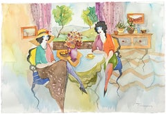 UNTITLED (TEATIME IN THE SPRING)