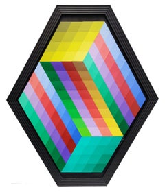 HEXAGON (DIMENSIONAL PIECES OF WOOD WITH MAGNETS)