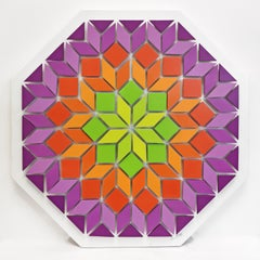 BLOSSOM (DIMENSIONAL PIECES OF WOOD WITH MAGNETS)