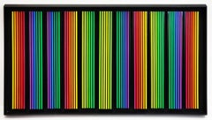 RAINBOW (DIMENSIONAL HAND PAINTED WOOD)