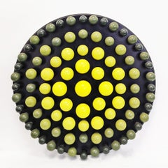 LEMON-LIME ATTRACTION (DIMENSIONAL PIECES OF WOOD)