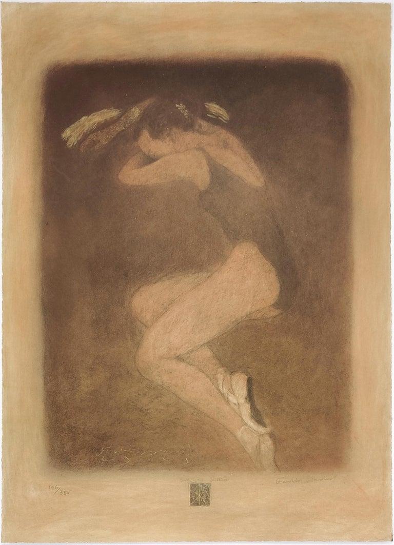 Roy Fairchild-Woodard Figurative Print - SLEEPING SASKIA