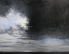 Noir et Blanc, Oil on Canvas by Franck Bailleul