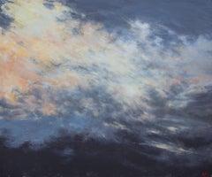 Un soir d 'été, Oil on Canvas by Franck Bailleul