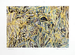 Mulch, Watercolor by Alan Gussow, 1978