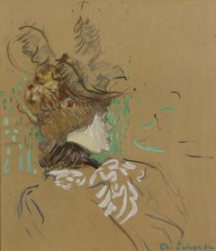 Early 1900s Figurative Drawings and Watercolors