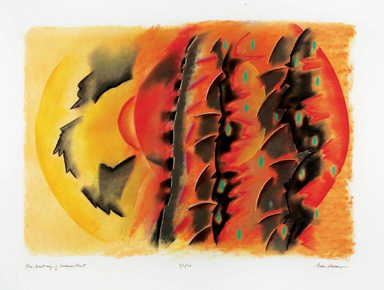 Alan Gussow Landscape Art - The Anatomy of Summer Heat