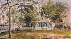 19th Century Watercolor, Saint's Rest, 1864