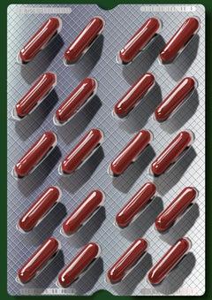 Pills- Contemporary Eco Pop art, digital print on paper