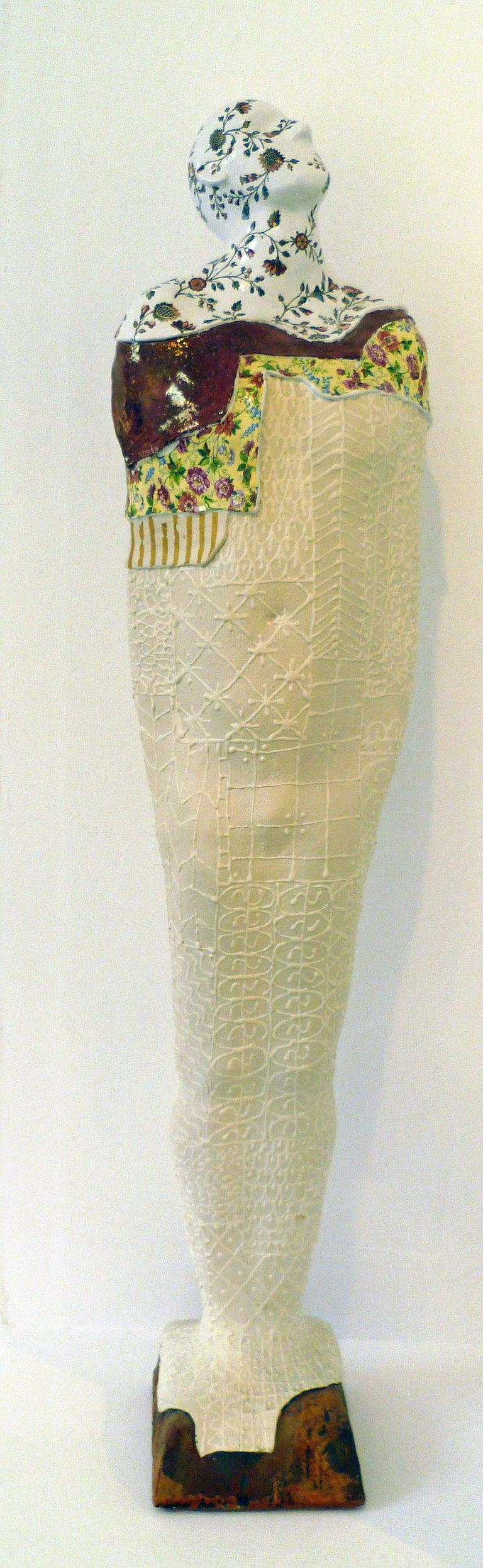 Pierre Williams Figurative Sculpture - Tall Standing Figure 2