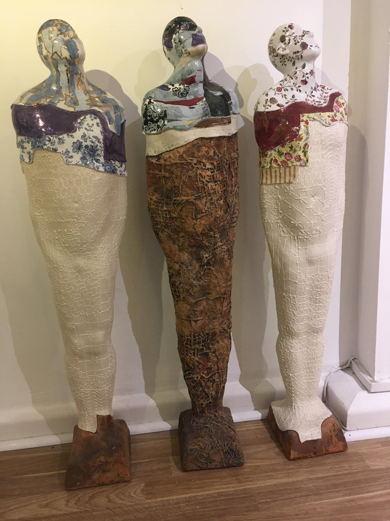 Tall Standing Figure 2 For Sale 3