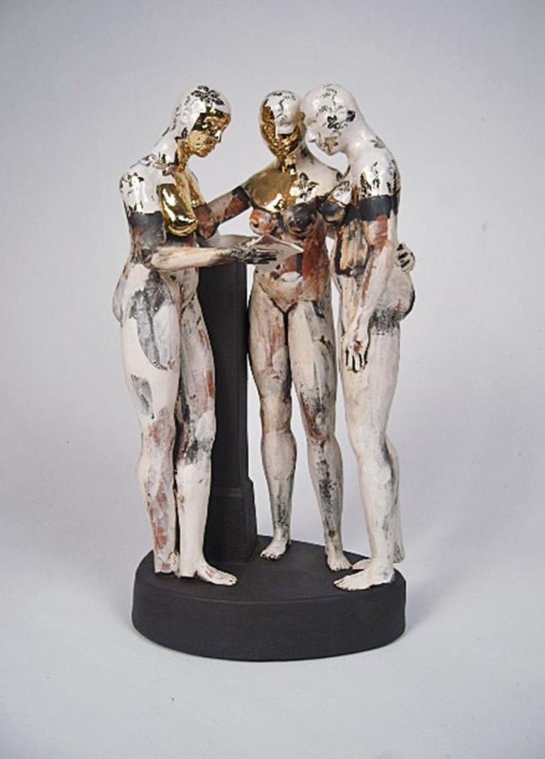 Letter from Antonio Canova - contemporary ceramic sculpture