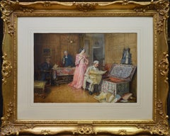 Hidden Treasures - Fine 19th Century Subject Picture Painting
