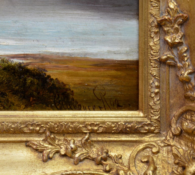 Loch Lomond - 19th Century Landscape Oil Painting of the Scottish Highlands For Sale 5