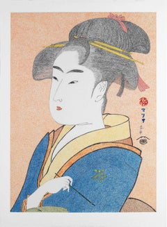 Japanese Art Figurative Painting Mario B Gil Tomimoto Toyohina Edo period