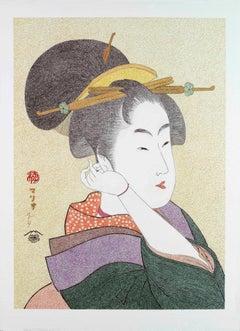 Japanese Art Figurative Painting Mario BGil Tatsumi Roko Edo Period