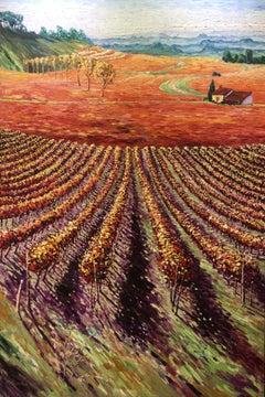 Purple fall