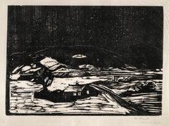 Edvard Munch, Snølandskap  (Winter Landscape)