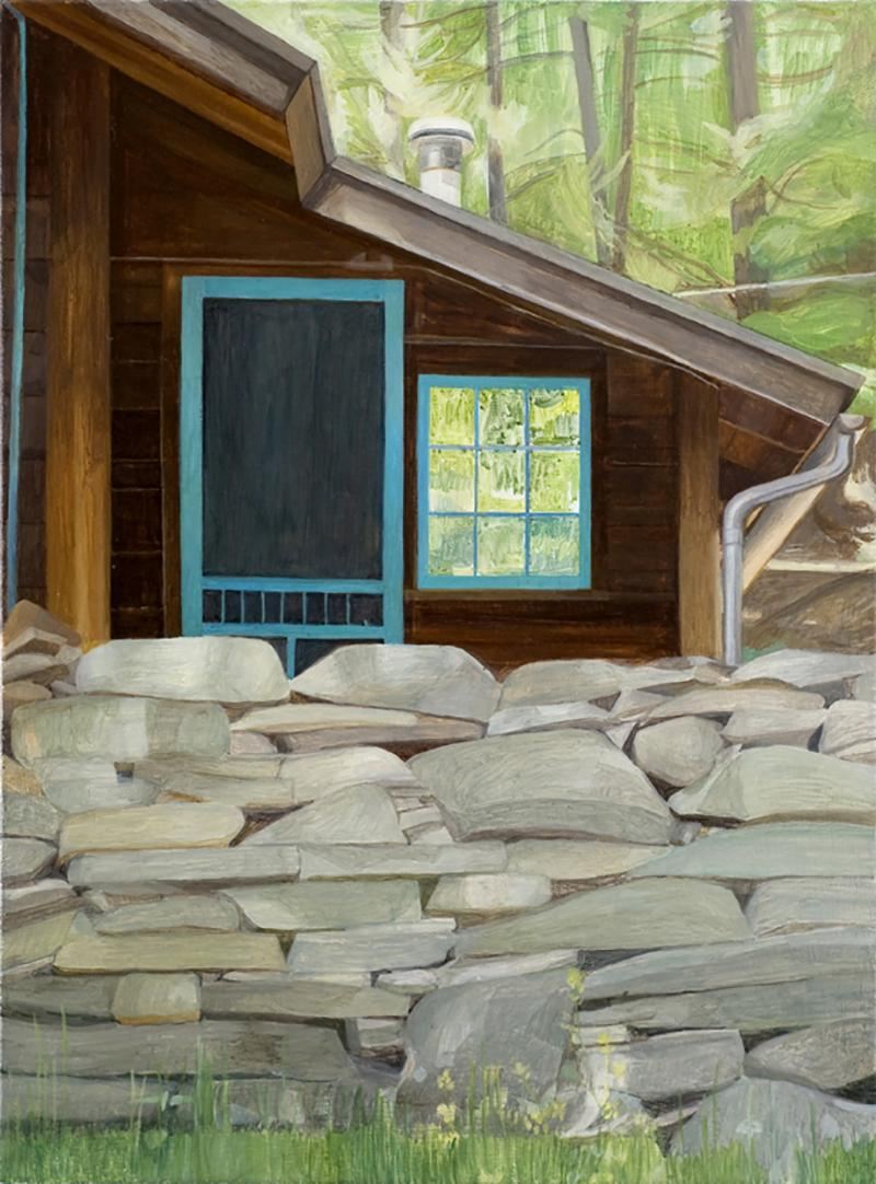 Serenata, Upstate New York, Contemporary Landscape Painting, Oil on Linen